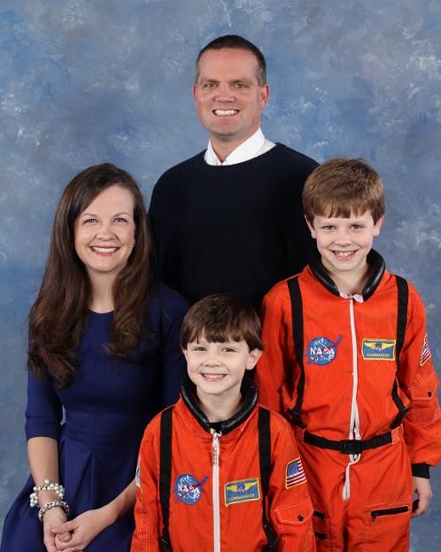 The Slocum's - Rev. Lyndsay Lee, Scott, Brandon, and Drew