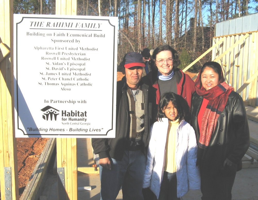 2008 Habitat for Humanity Build for the Rahimi family
