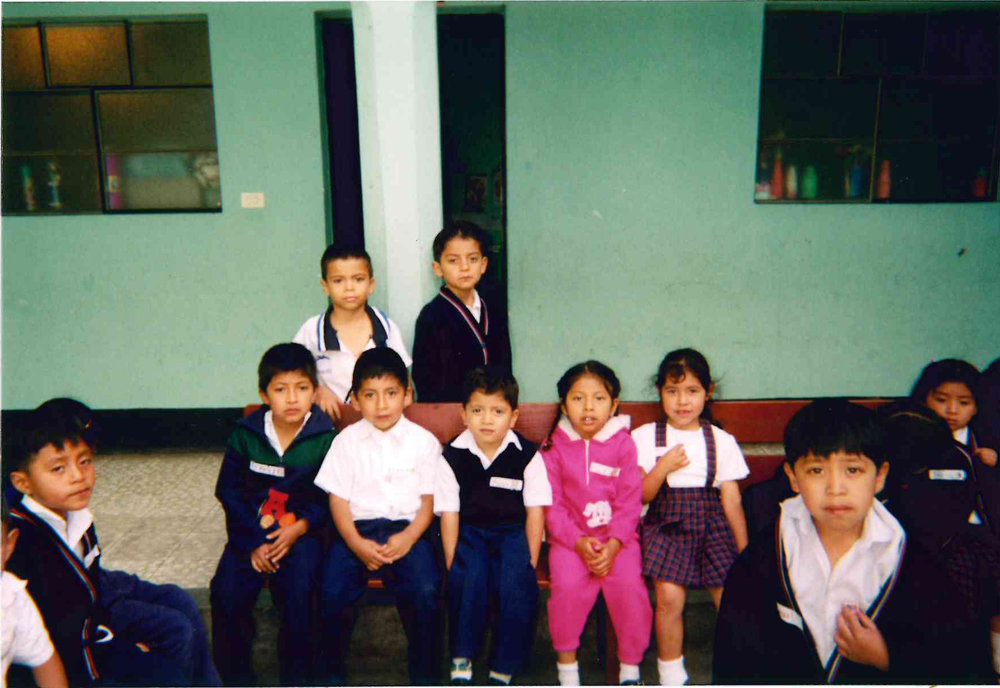 2002 - RPC's first visit to the Chichicastenango School in Guatemala