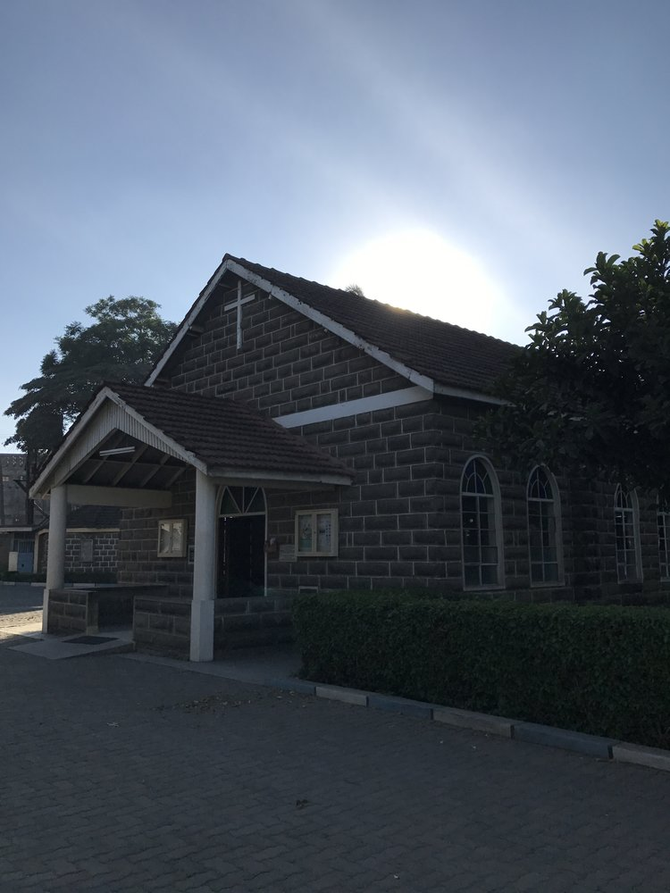The sanctuary at Nakuru West Parish