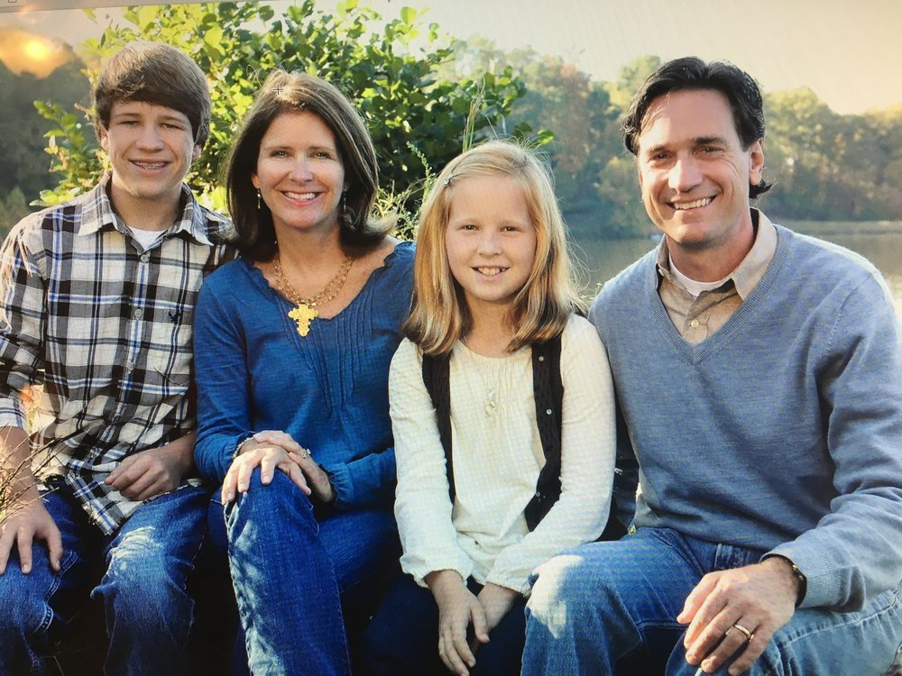 Harrison, Stephanie, Hayden, and Drake Hoops