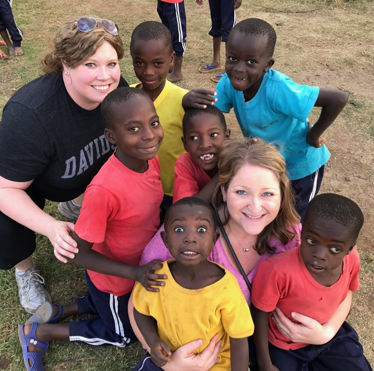 Ashley Alderman during the 2017 Kenya Mission Experience