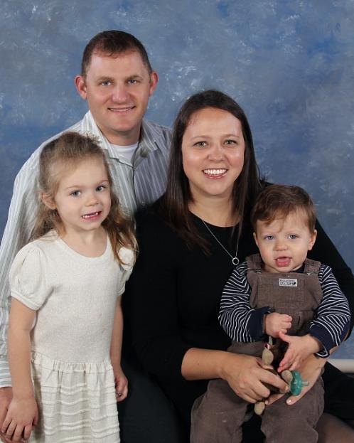 Macdonald family - Mark, Valerie, Madeline, and Harris (in 2015)
