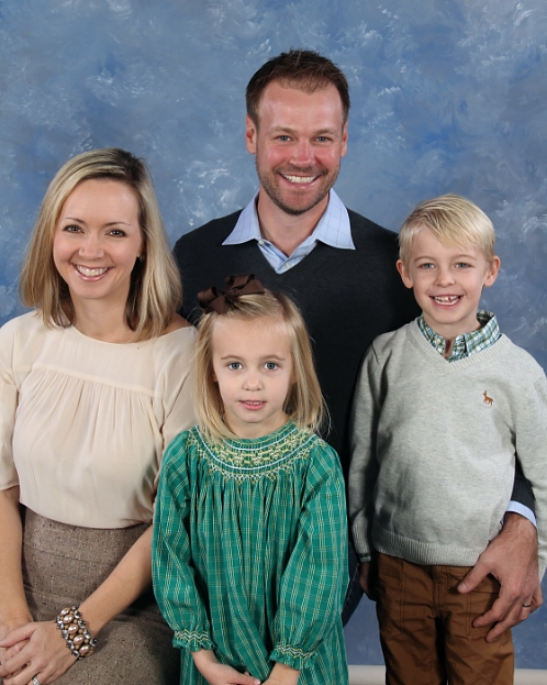 Miller family - Mark, Ashley, Jackson, and Molly (in 2015)