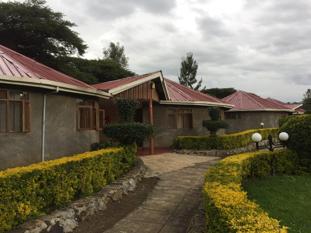 Here are the cottages where we are staying at in Nakuru. (Photo cred: Annie)