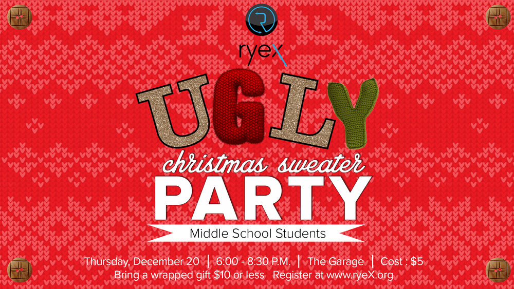 Middle School Youth Christmas Party - Thursday, December 20, 2018 1920x1080.png