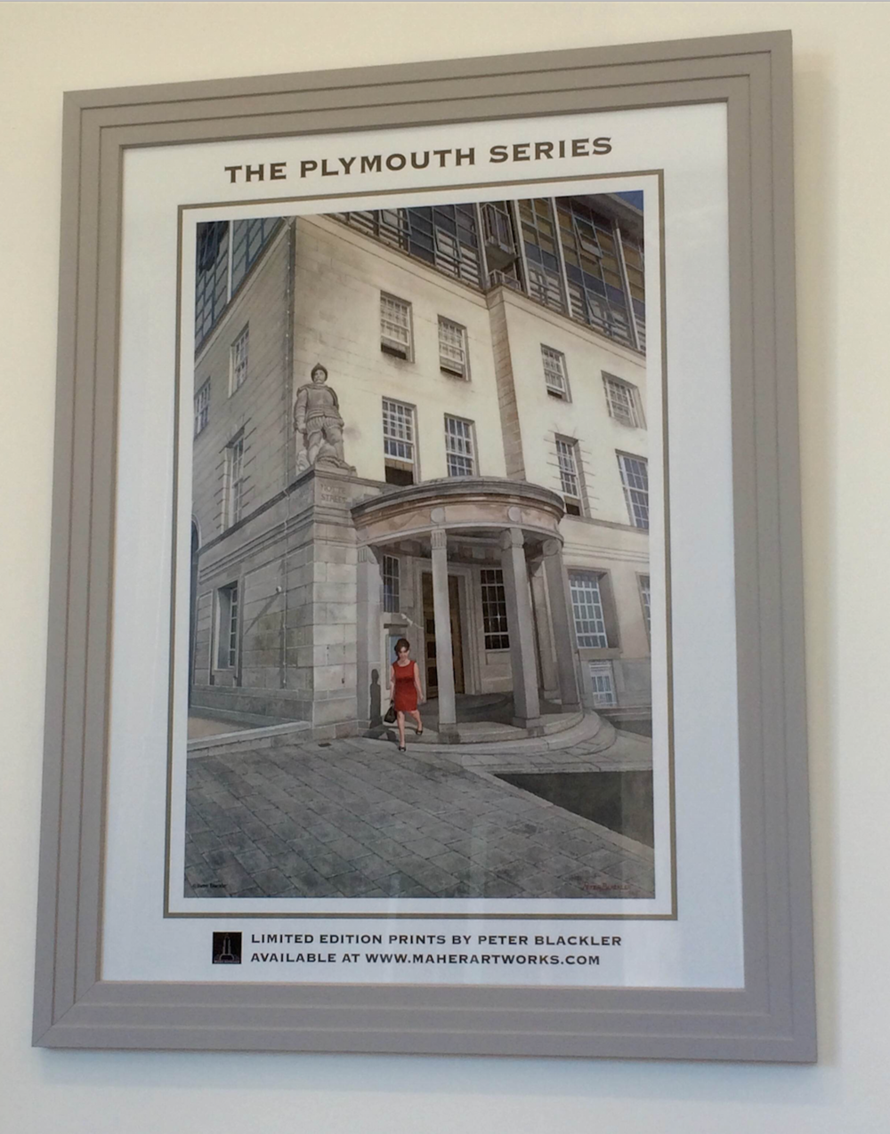 THE PLYMOUTH SERIES POSTER AT RWY