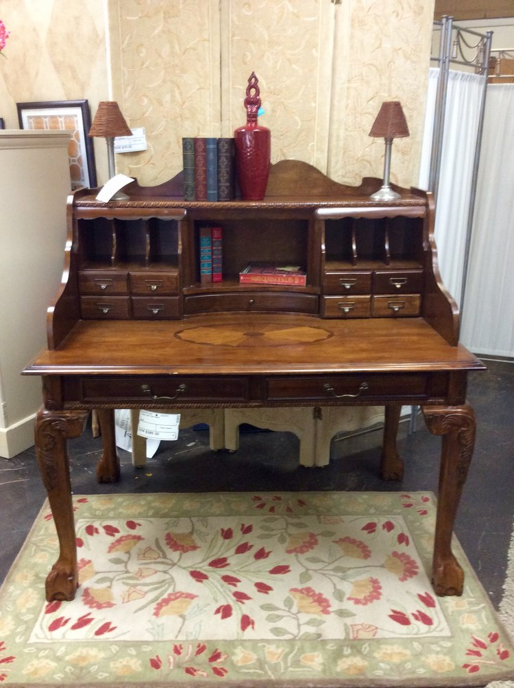 Large Claw Foot Desk — Finders Keepers