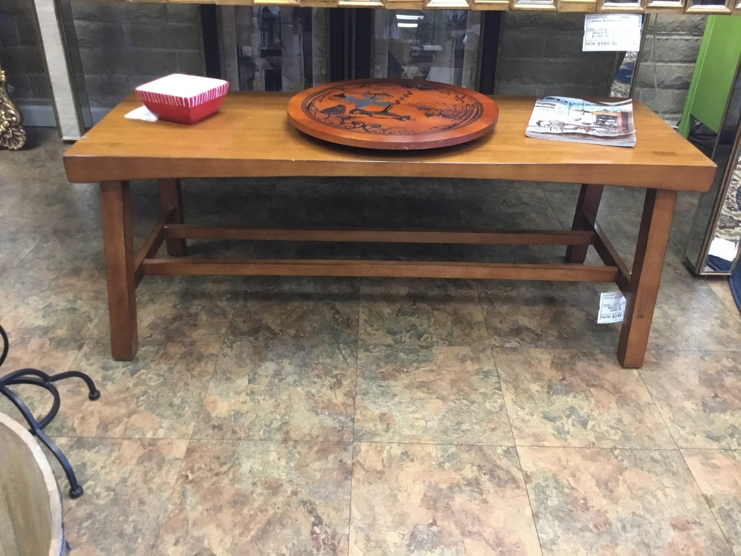 Pottery Barn Coffee Tablebench Finders Keepers