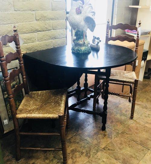 Vintage Gate Leg Drop Leaf Table Finders Keepers