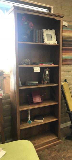 Oak Bookshelf Finders Keepers