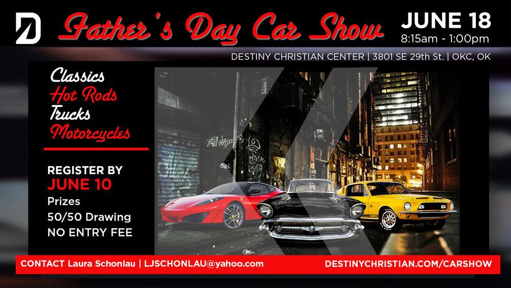 Fathers Day Car Show Destiny - Car show okc today