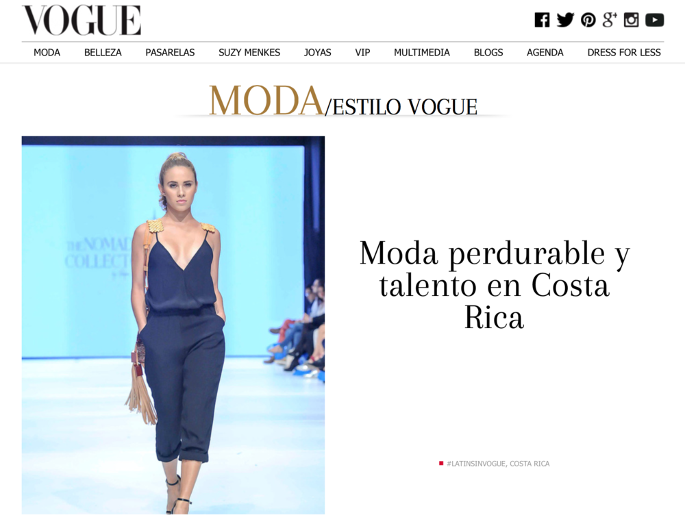 Vogue _ Moda Estilo Vogue _ Nomadic Collector
