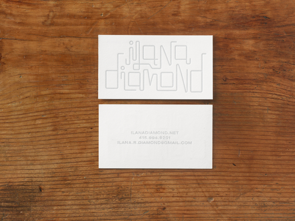 Ilana Diamond Business Card