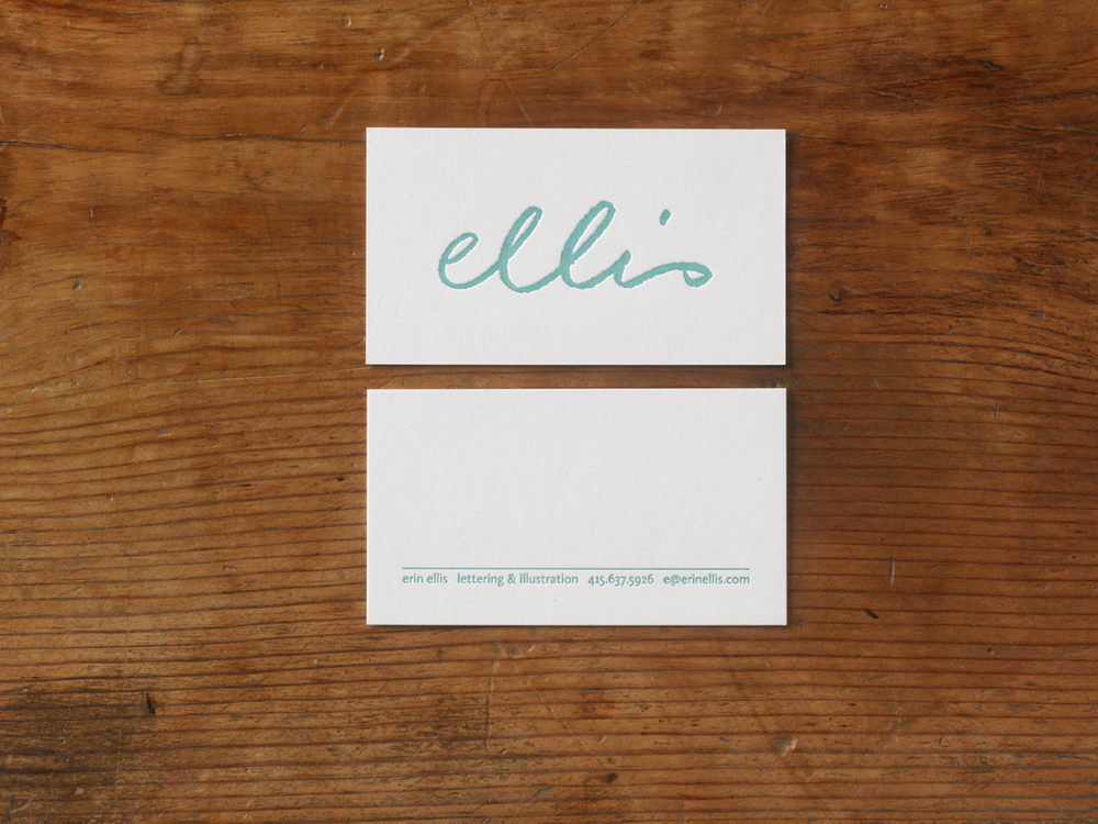 Erin Ellis Business Card