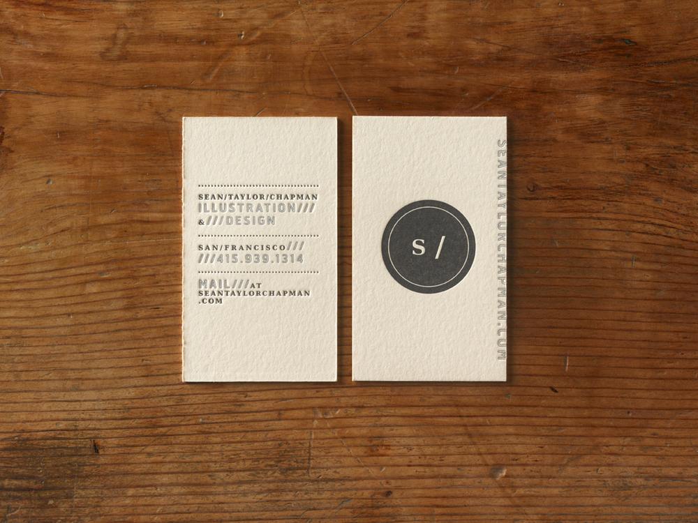 Sean Taylor Chapman Business Cards