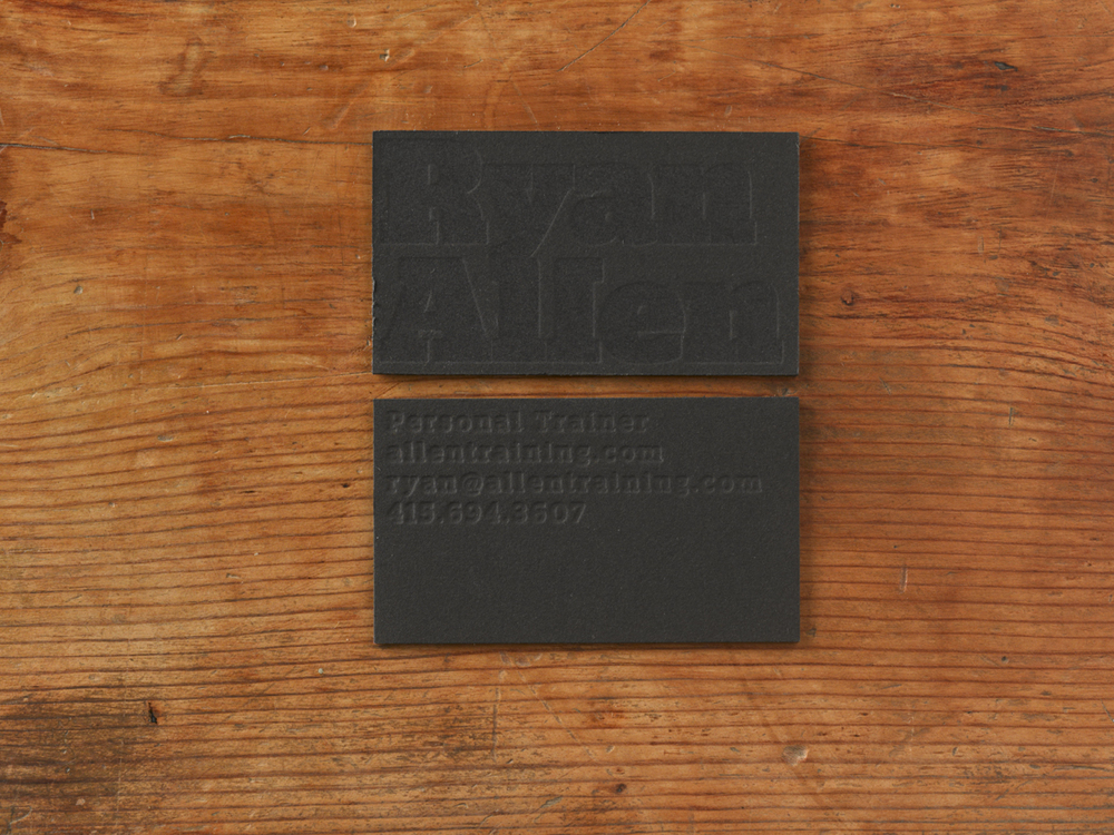 Ryan Allen Business Card