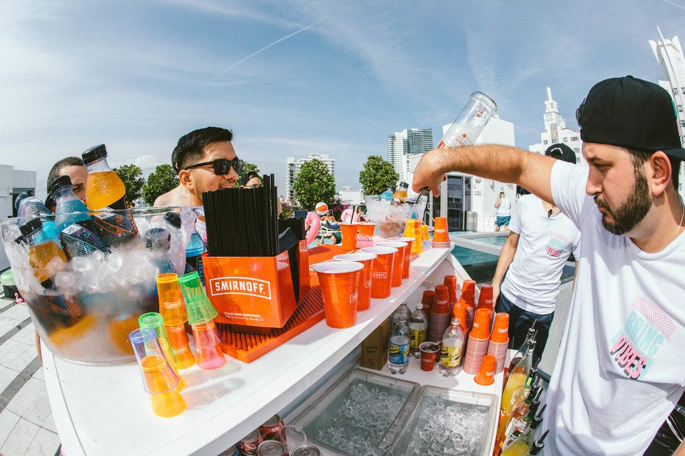 Bar at Smirnoff Sound Collective Miami Day Party.jpg