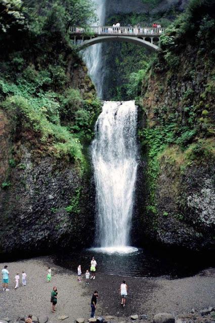 Multnomah Falls 1991