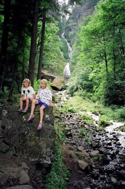 Wahkeena Falls 1991