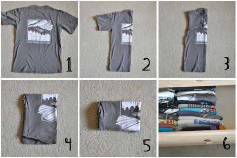 Use Cardboard Box as T-shirt storage in closet. Find this Pin and more on Gots To Get My Craft On by Maurine Langley. Use Cardboard Box as T-shirts storage in closet, cover in pretty wallpaper or paint. I would keep the opening square not on an angle like this picture. Use Cardboard Box as .