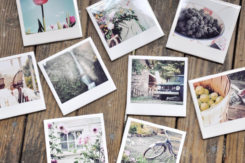 Diy Homemade Polaroid Coasters Darkroom And Dearly