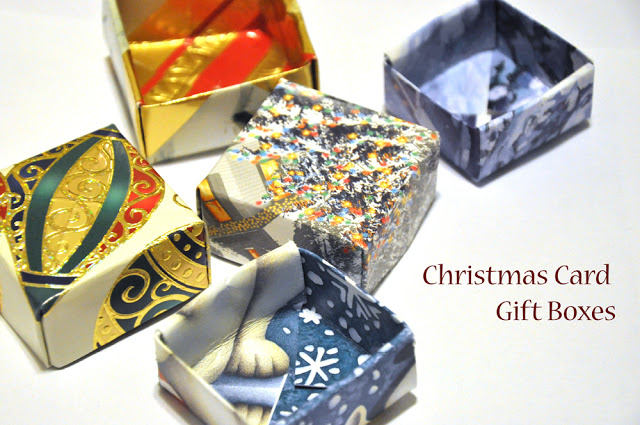 Christmas gift boxes diy projects