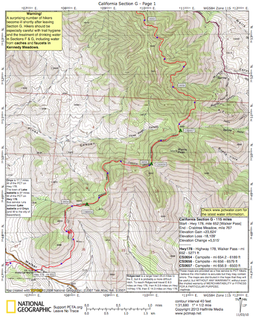 How Do You Navigate on the PCT? — Darkroom and Dearly