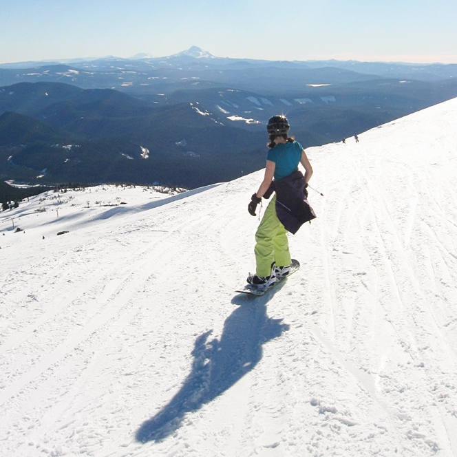 Mt. Hood Meadows, Jan 2013