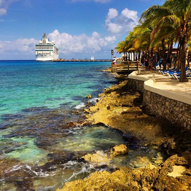 It's raining this weekend, so I'm dreaming about a place with 85 degrees and sun.... #carnivalcruise #cozumel