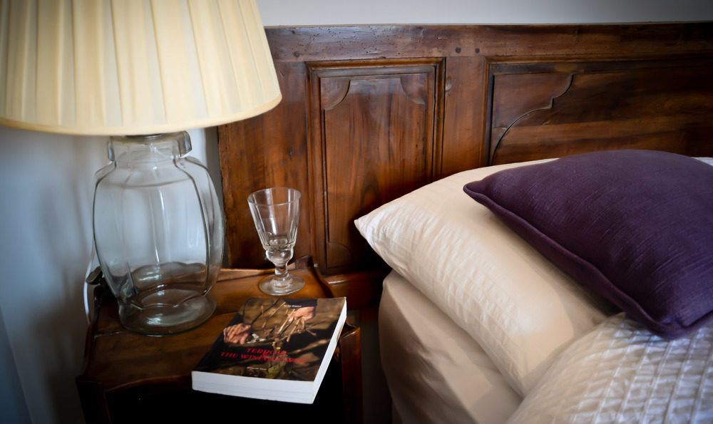 Head to bed with a good book and read-up on the famed wines of the region.