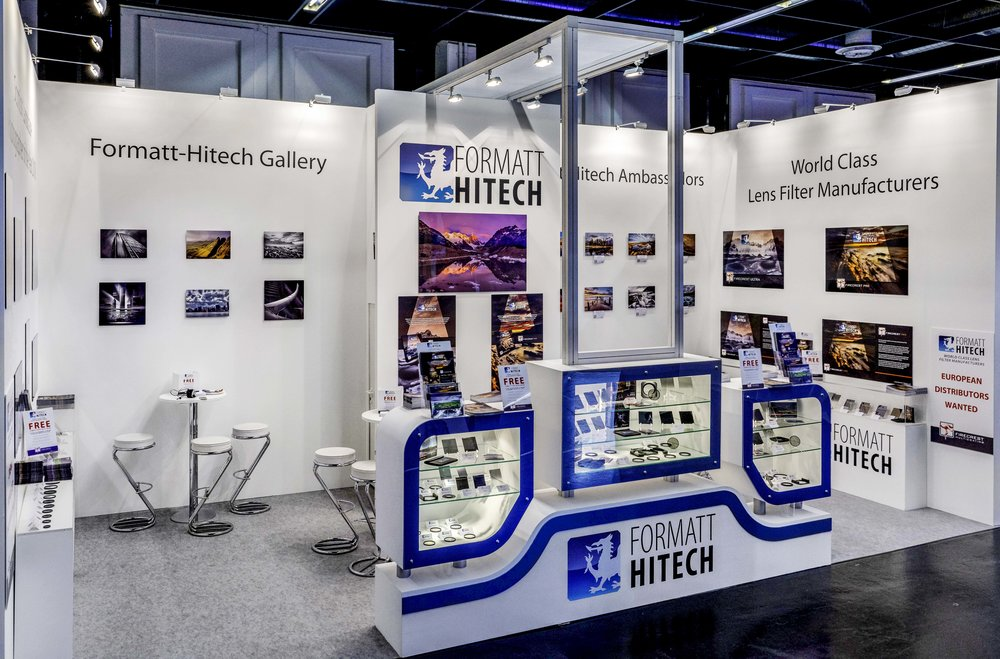 Formatt-Hitech booth at Photokina Cologne 2018