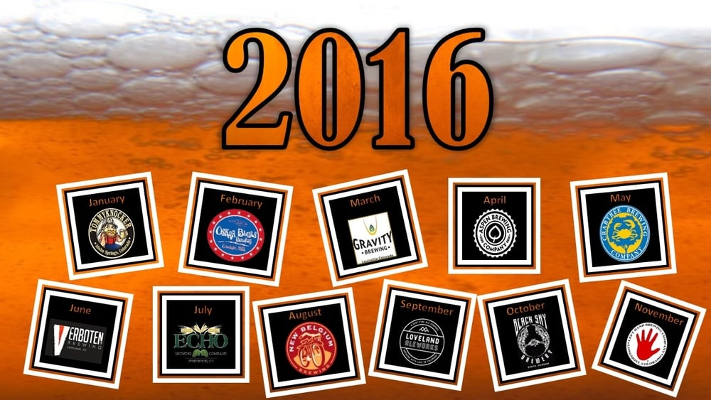 2016 Tap Takeovers and Beer Pairing Dinners at The Tavern at St. Michael's Square Greeley Colorado Tommyknocker Oskar Blues Gravity Brewing Aspen Brewing Crabtree Brewing Verboten Brewing Echo Brewing Company Loveland Aleworks, Black Sky Brewery New Belgium Brewing Left Hand Brewing Company