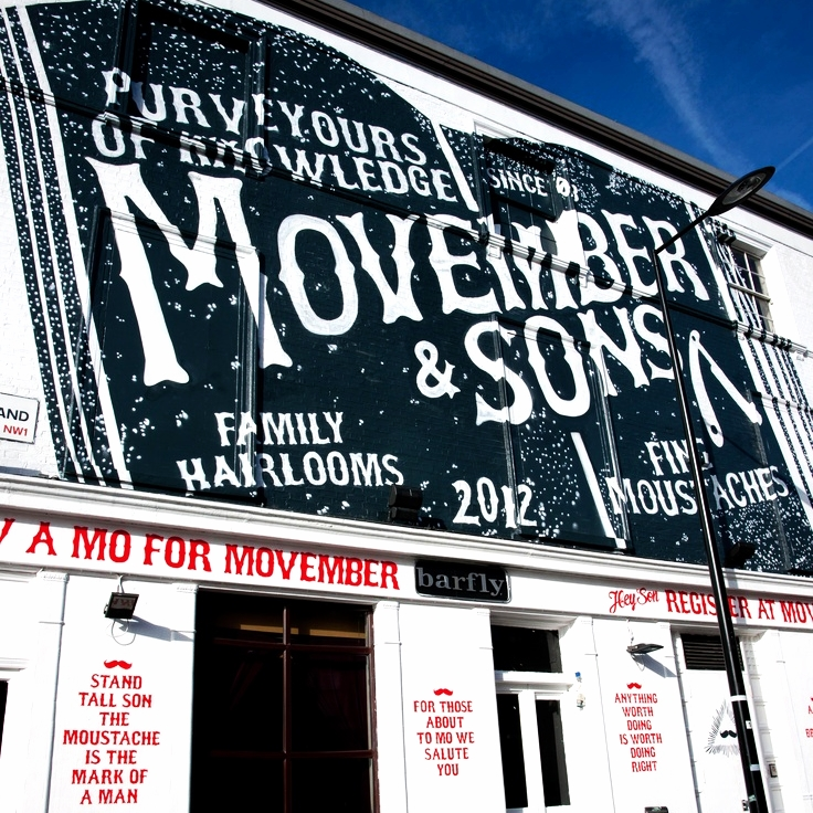MOVEMBER - LAUNCH MURAL