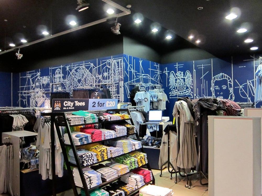 Manchester city team store
