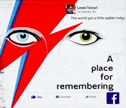 FACEBOOK - A PLACE FOR REMEMBERING