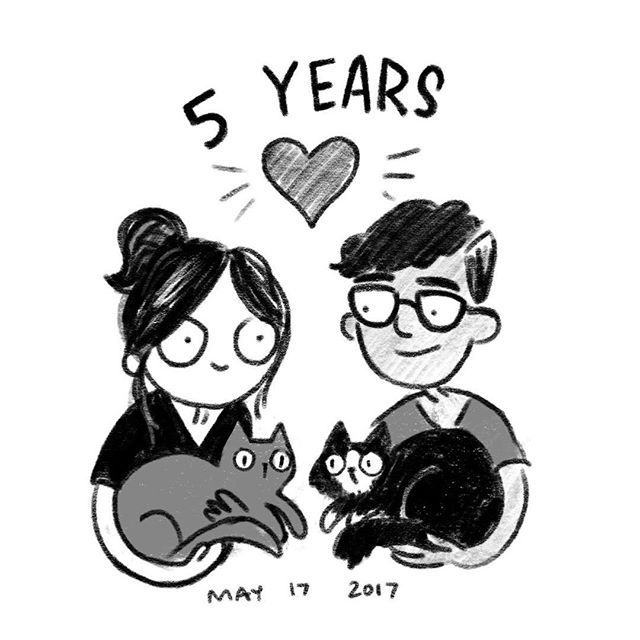 I'm so glad I met you 16 whole years ago in our school's hallway, @seanjuarez! And I'm so glad our friendship turned into what it is now. Happy anniversary to my favorite person on earth. ❤