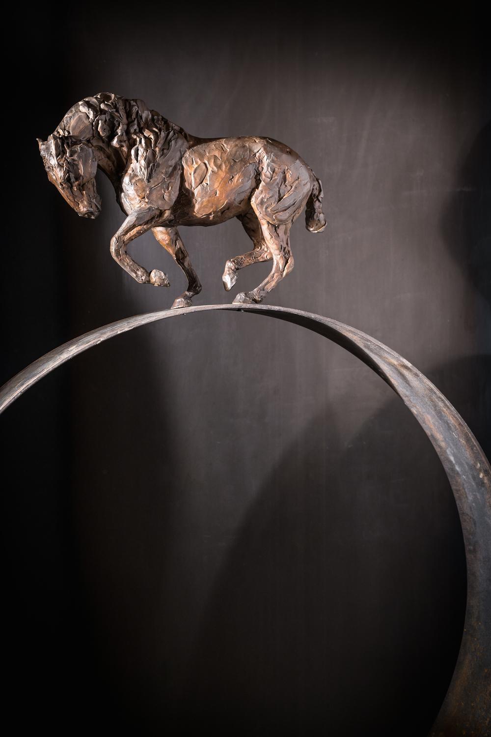 Precarious l  Bronze  l  56x36x6  l  $8,700