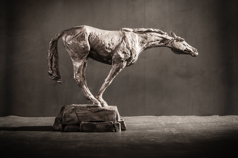 Reach Recklessly  l  Bronze  l  18x12x5  l  $4,000