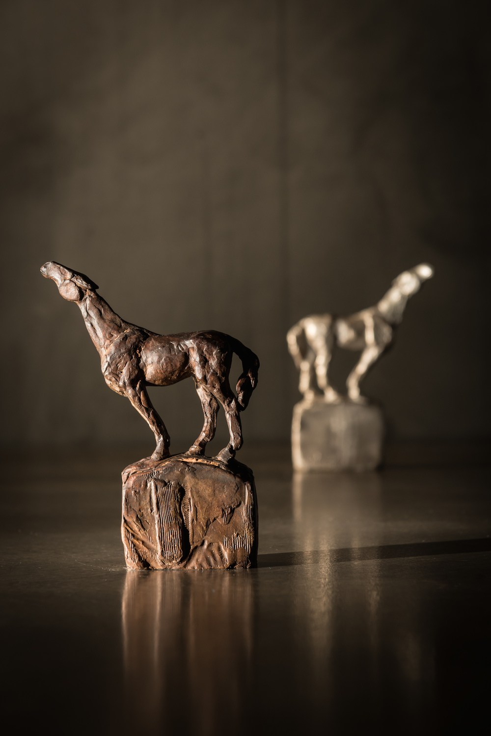 Search  l  Maquette  l  Bronze  l  6x4.5x1  l  $375
