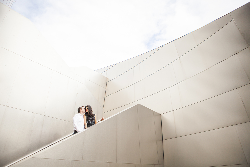 Dominique + Will's Architecturally dreamy Engagement. 6-20-2015