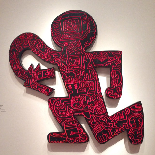 Keith Haring, very interesting at De Young!