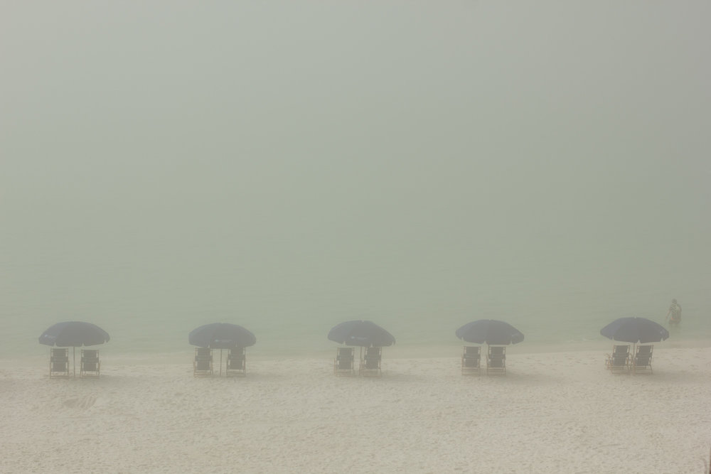Beach Fog, Santa Rosa Beach, Florida, In Camera - Tim Putnam