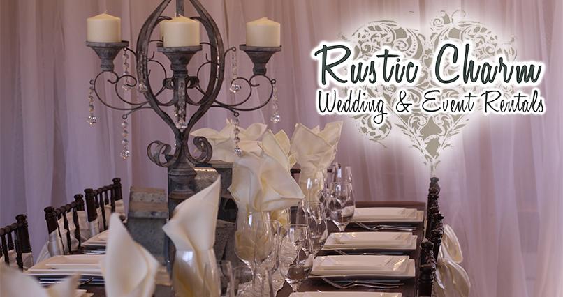 Rustic Charm Rentals |Redding Bridal Show