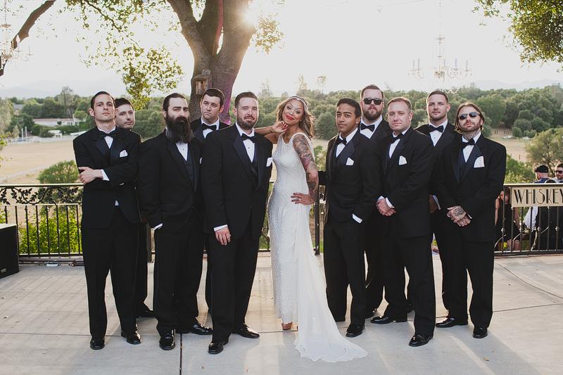 TUXEDO DEN | REDDING BRIDAL SHOW
