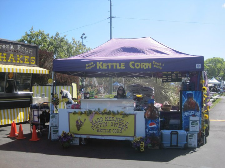 Madd Kernel's Kettle Corn | Redding Bridal Show
