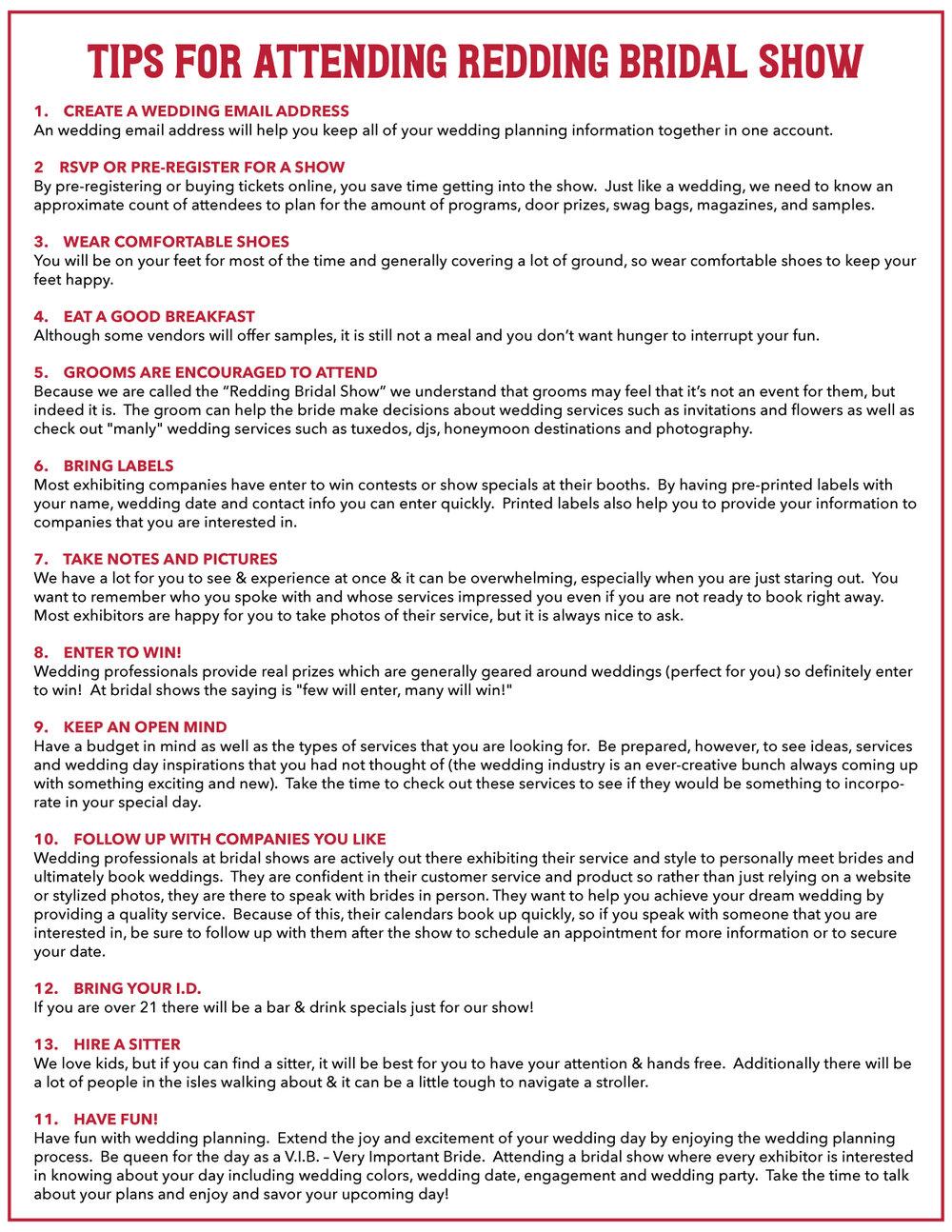 Tips For Attending Redding Bridal Show.jpg