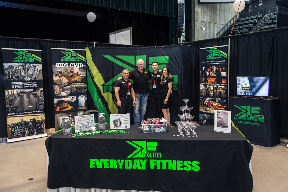 EveryDay Fitness Redding Bridal Show Wedding Expo