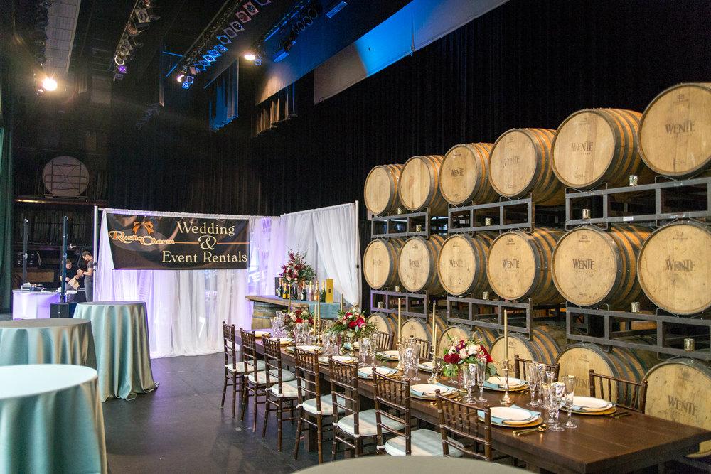 Rustic Charm Rentals Redding Bridal Show Wedding Expo