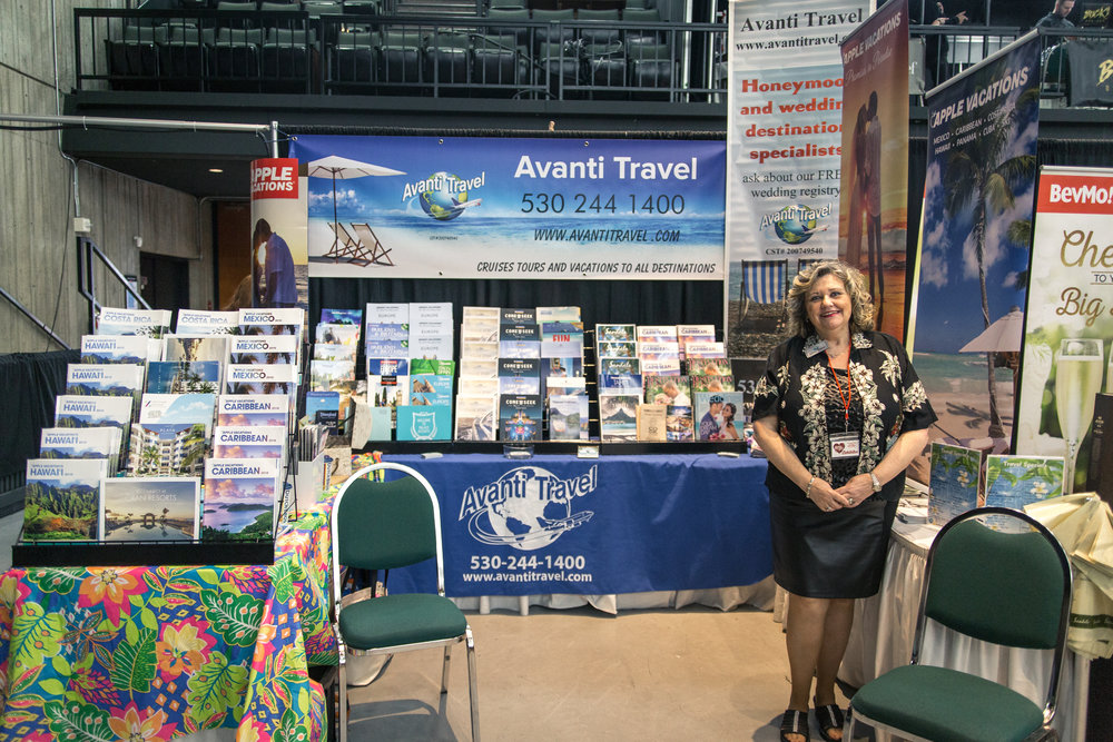 Avanti Travel Redding Bridal Show Wedding Expo